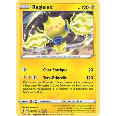 Carte Pokémon EB07 060/203 Regieleki Holo