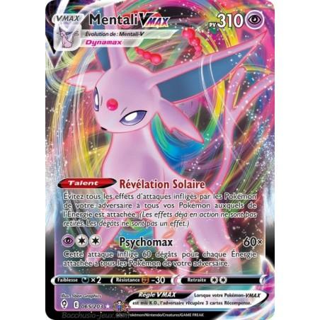 Carte Pokémon EB07 065/203 Mentali V Max