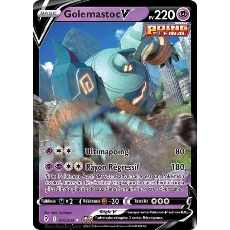 Carte Pokémon EB07 070/203 Golemastoc V