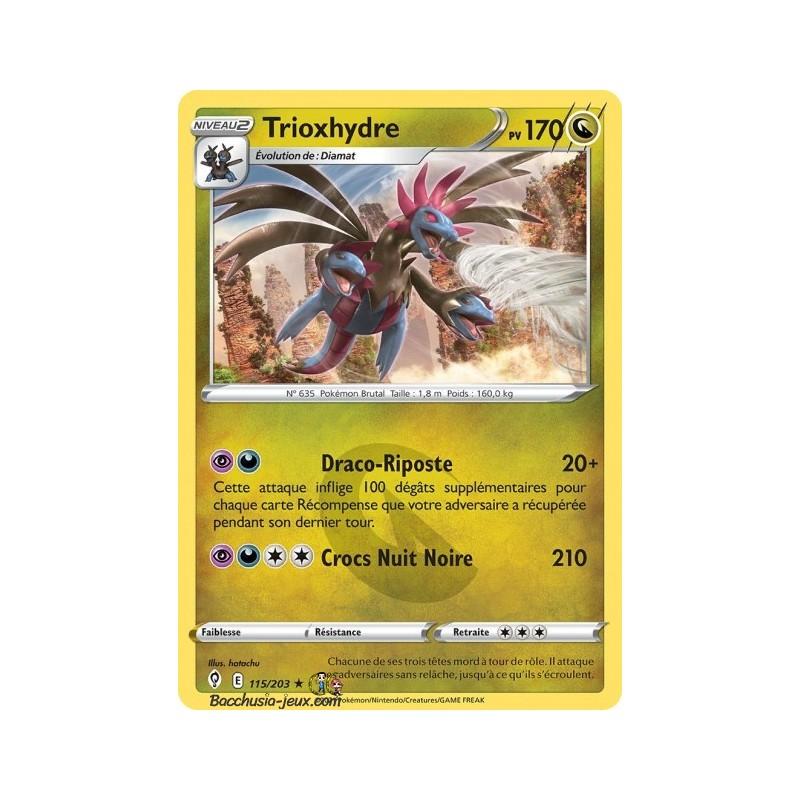 Carte Pokémon EB07 115/203 Trioxhydre