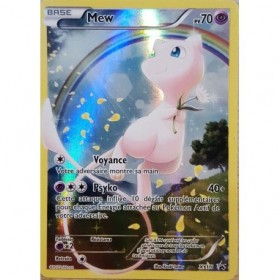 Carte Mew XY110 Collection pokémon fabuleux