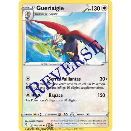 Carte Pokémon EB07 137/203 Gueriaigle Reverse