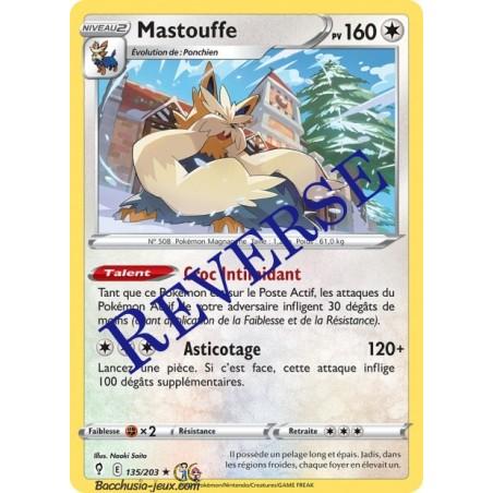 Carte Pokémon EB07 135/203 Mastouffe Reverse