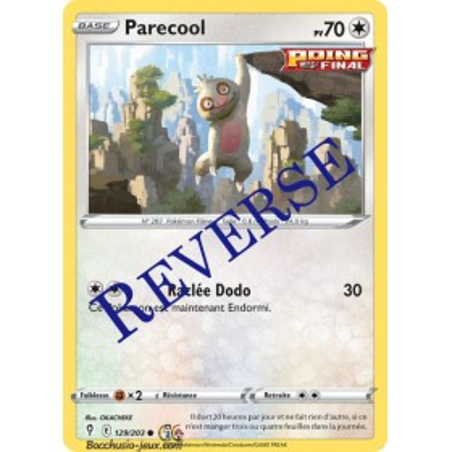 Carte Pokémon EB07 129/203 Parecool Reverse