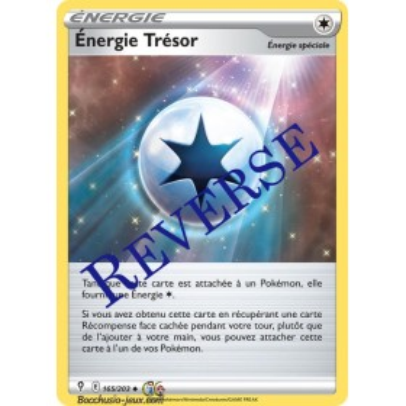 Carte Pokémon EB07 165/203 Energie Trésor Reverse