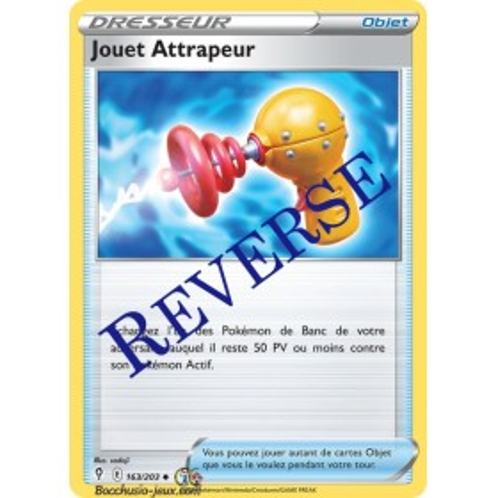 Carte Pokémon EB07 163/203 Jouet Attrapeur Reverse