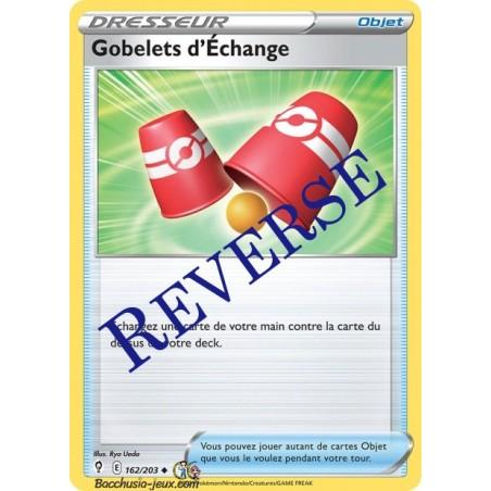 Carte Pokémon EB07 162/203 Gobelets d'Echange Reverse