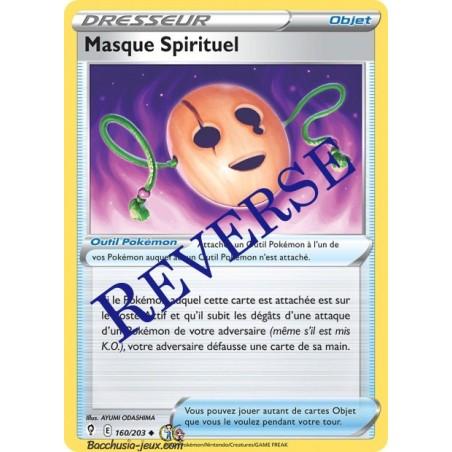 Carte Pokémon EB07 160/203 Masque Spirituel Reverse