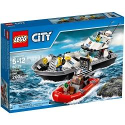 Lego City  60129 - le bateau de patrouille de la police