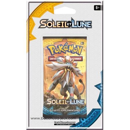Pokémon 1 Booster sous blister Soleil et Lune