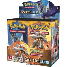Pokémon Display Soleil et Lune (36 Boosters) Scellé Pokéball
