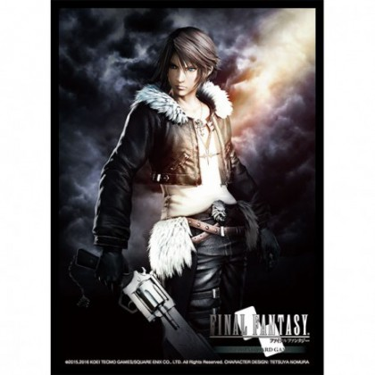Protège cartes Final Fantasy Squall x60