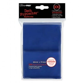 Ultra Pro Deck Protector Sleeves bleu x100