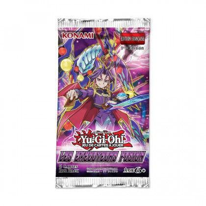Yu Gi Oh! Les Executeurs Fusion 1 Booster
