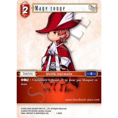 Mage Rouge 1-003C