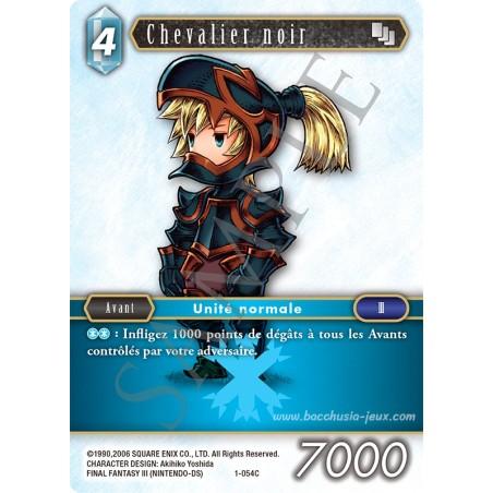 Chevalier noir 1-054C