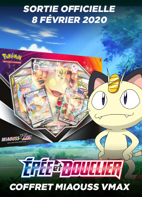Pokemon - Coffret Miaouss Vmax Collection Spéciale